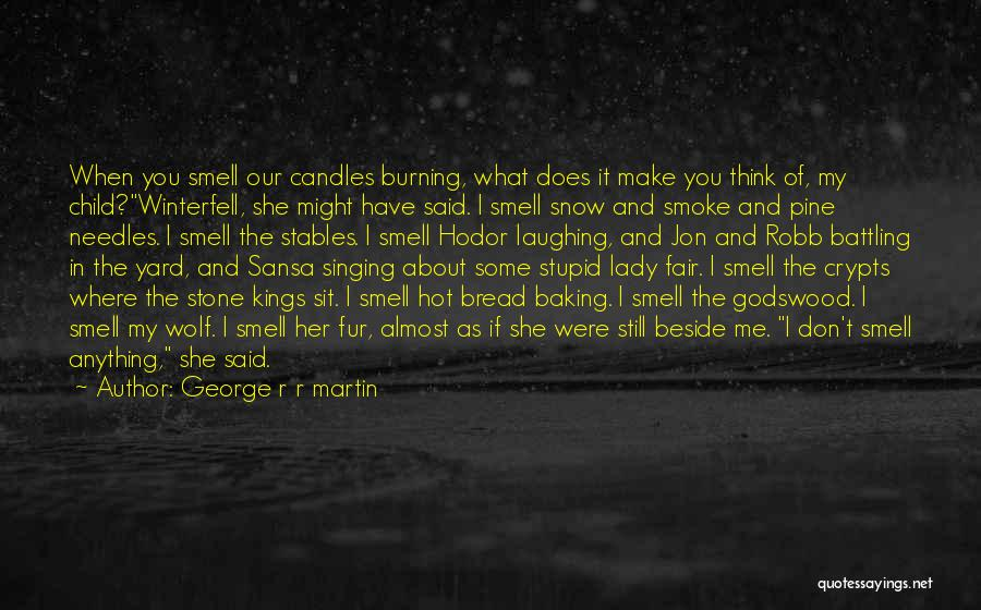 The Stone Child Quotes By George R R Martin