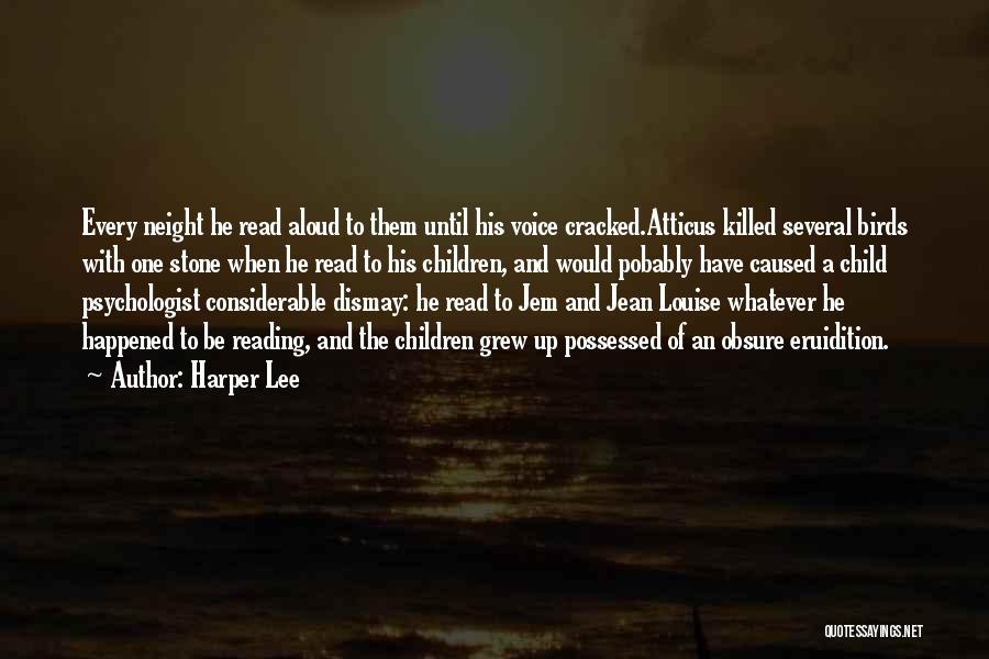 The Stone Child Quotes By Harper Lee