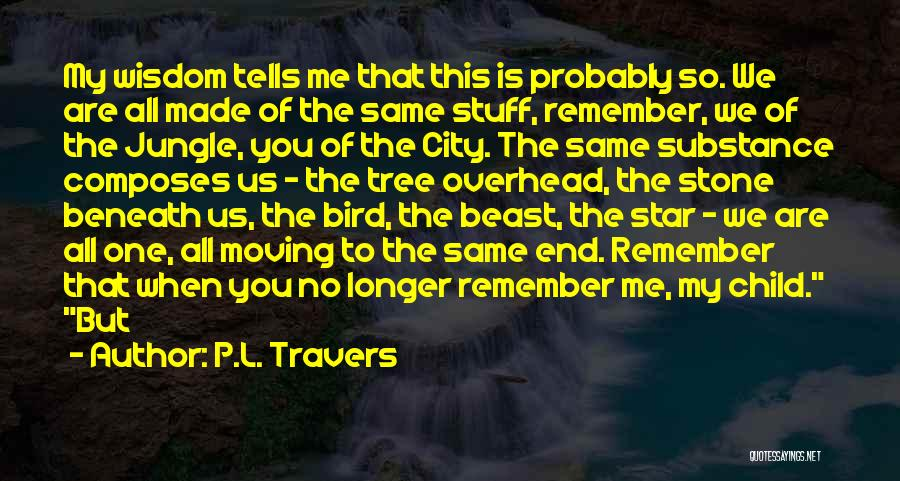The Stone Child Quotes By P.L. Travers
