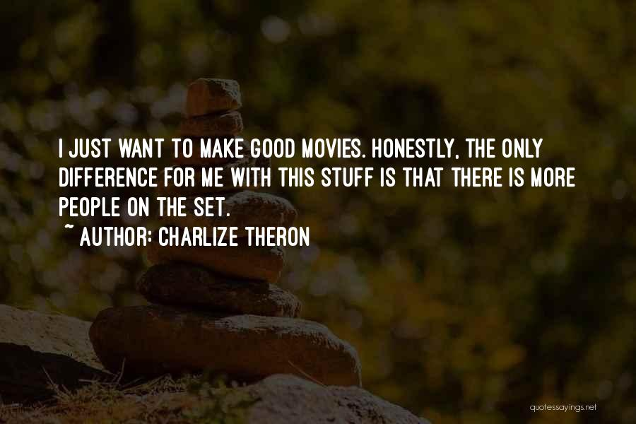 The Stuff Movie Quotes By Charlize Theron
