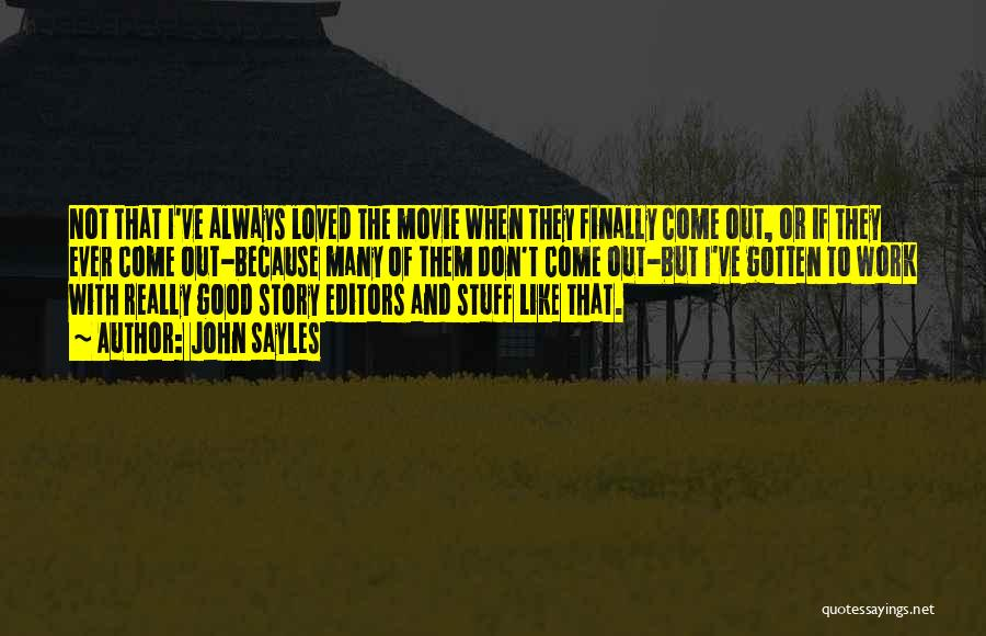 The Stuff Movie Quotes By John Sayles