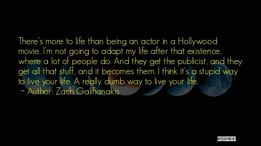 The Stuff Movie Quotes By Zach Galifianakis