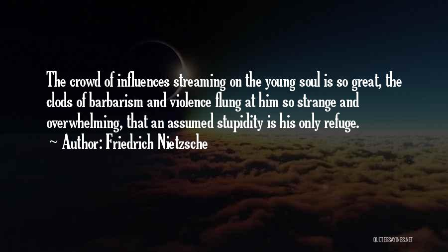 The Stupidity Of Youth Quotes By Friedrich Nietzsche
