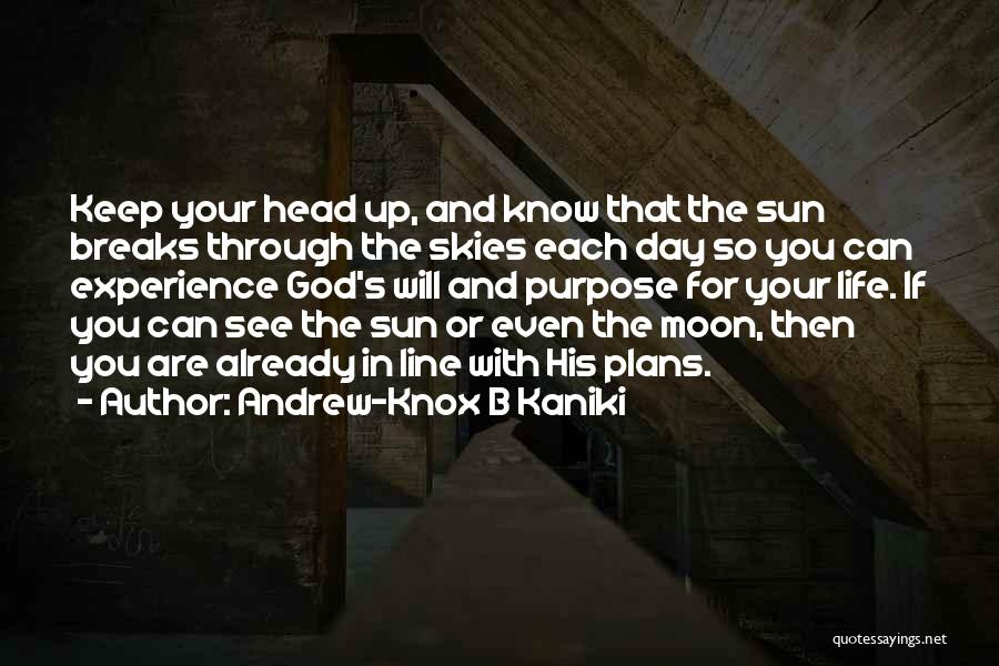 The Sun And Moon Quotes By Andrew-Knox B Kaniki