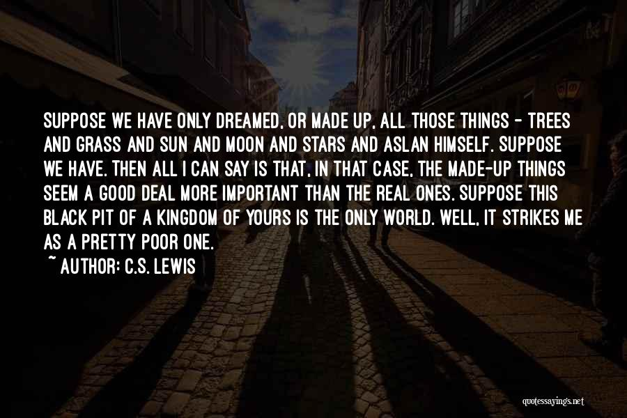 The Sun And Moon Quotes By C.S. Lewis