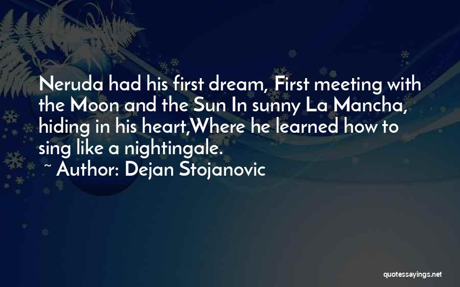 The Sun And Moon Quotes By Dejan Stojanovic