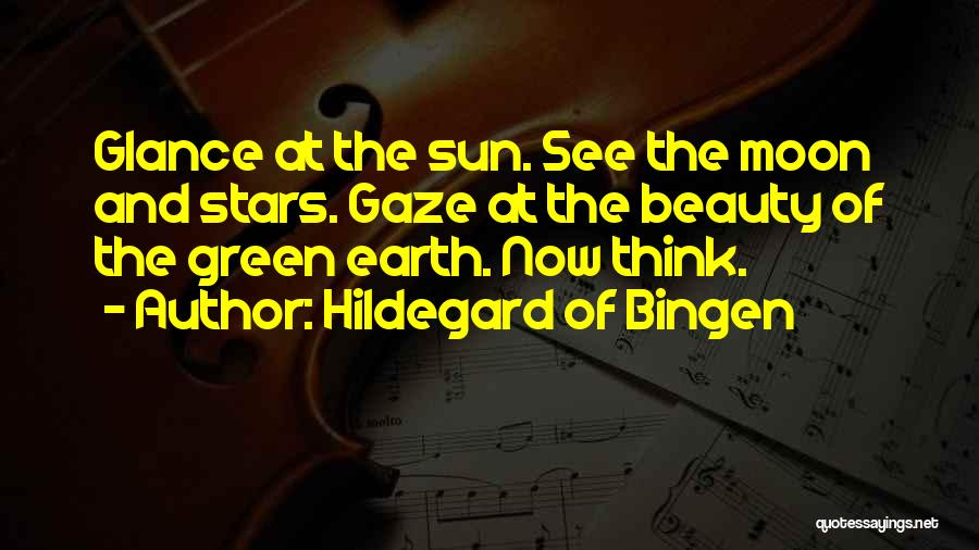The Sun And Moon Quotes By Hildegard Of Bingen