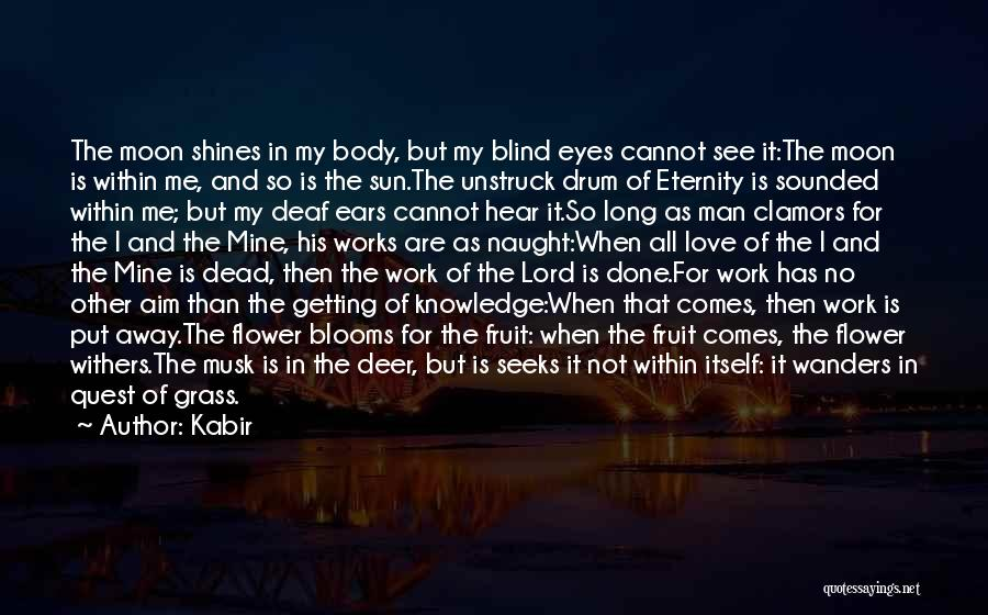 The Sun And Moon Quotes By Kabir