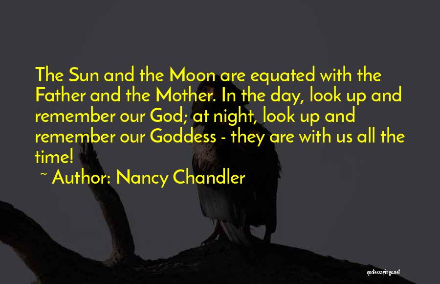 The Sun And Moon Quotes By Nancy Chandler