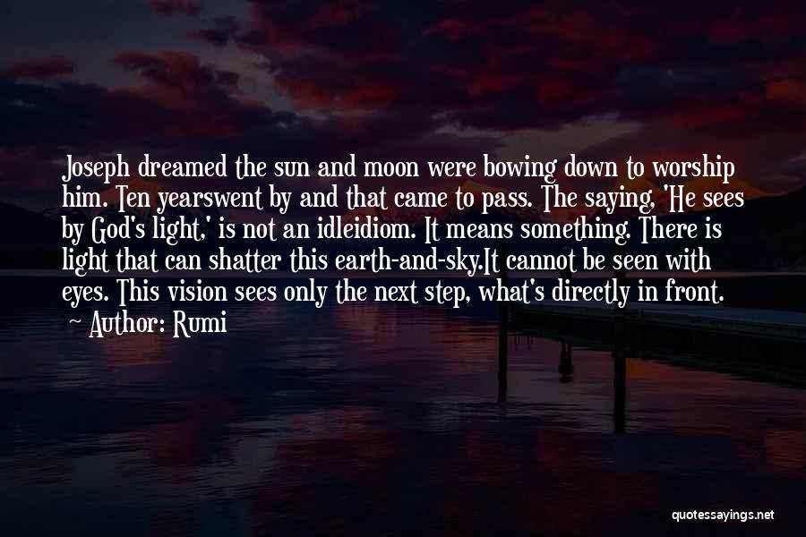 The Sun And Moon Quotes By Rumi