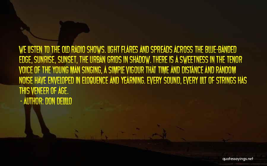 The Sunset And Sunrise Quotes By Don DeLillo