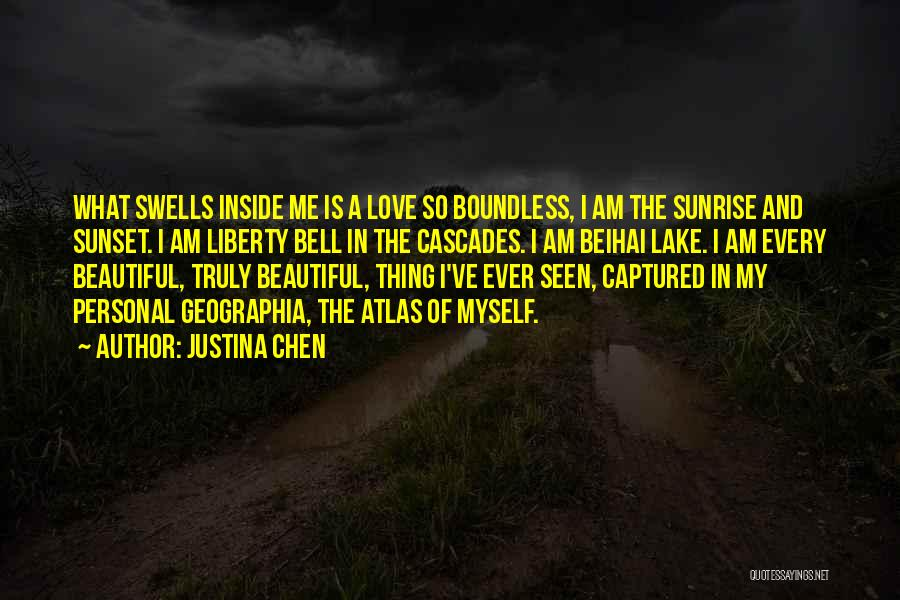 The Sunset And Sunrise Quotes By Justina Chen