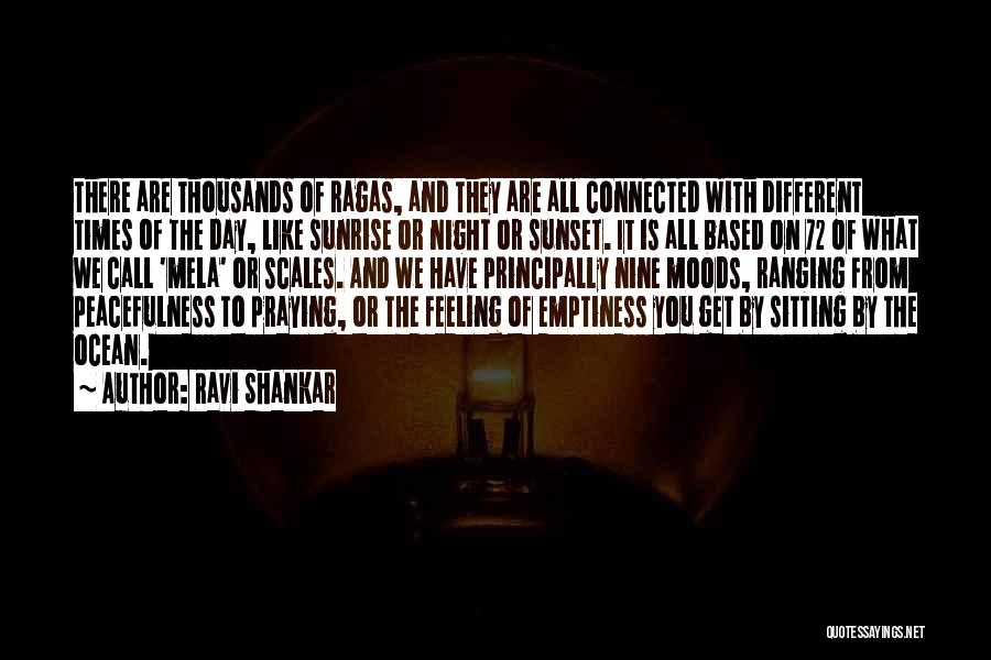 The Sunset And Sunrise Quotes By Ravi Shankar
