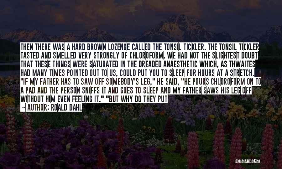 The Tickler Quotes By Roald Dahl