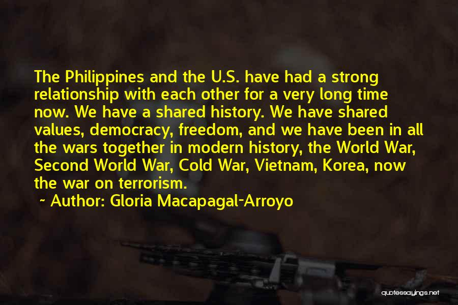 The Time We Shared Quotes By Gloria Macapagal-Arroyo