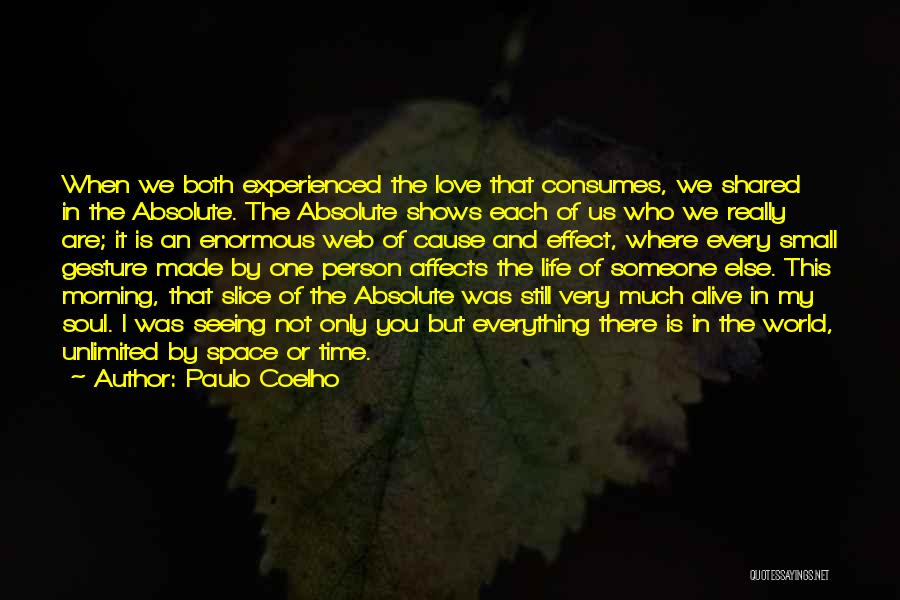 The Time We Shared Quotes By Paulo Coelho