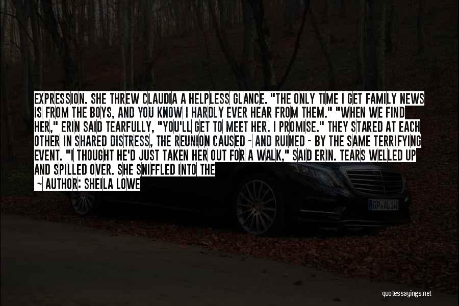 The Time We Shared Quotes By Sheila Lowe
