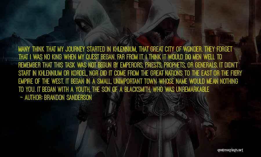 The Trouble With Youth Quotes By Brandon Sanderson