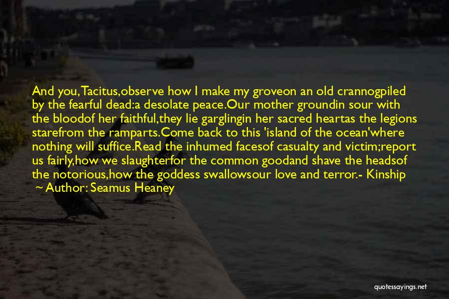 The Troubles In Northern Ireland Quotes By Seamus Heaney