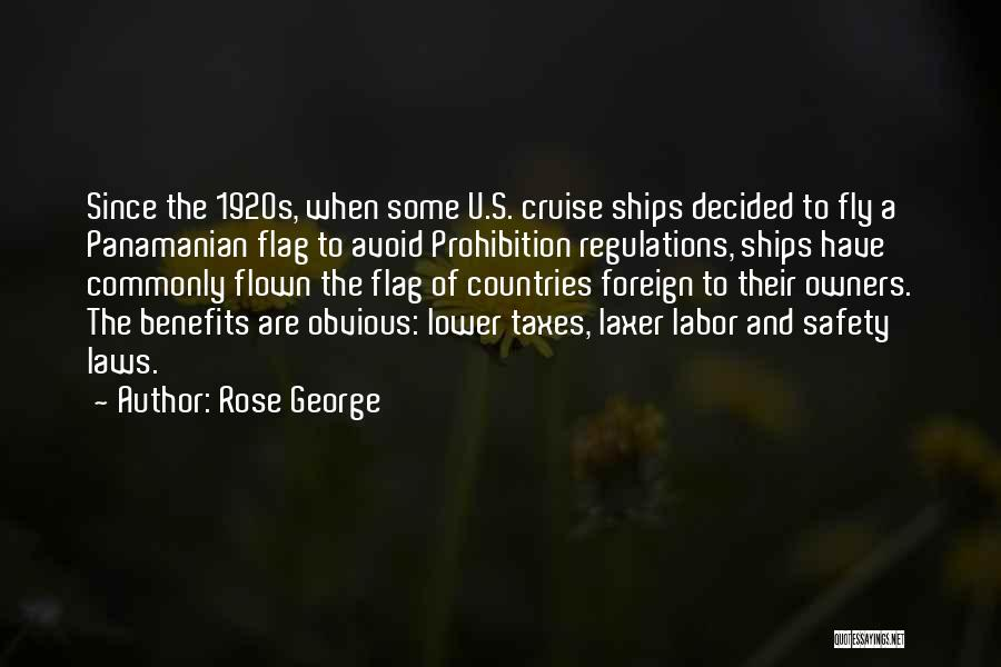 The U.s. Flag Quotes By Rose George