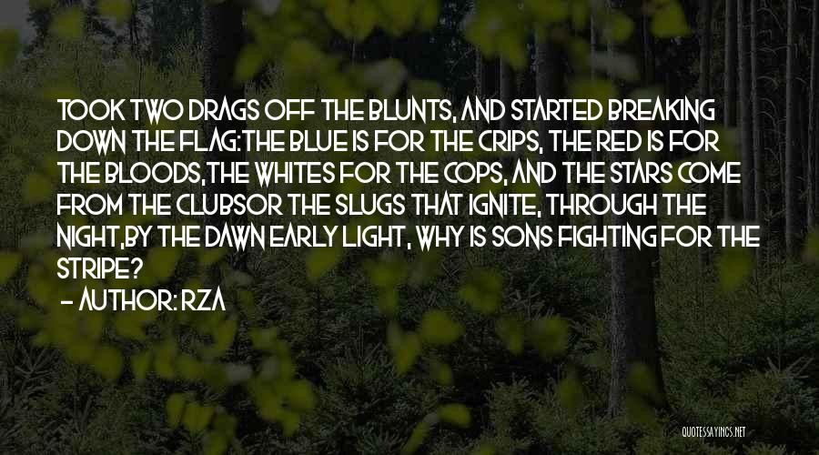 The U.s. Flag Quotes By RZA