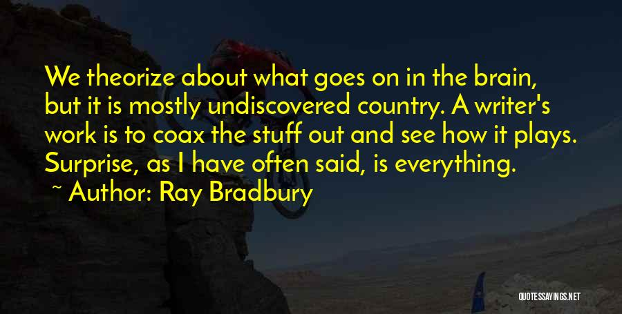 The Undiscovered Country Quotes By Ray Bradbury
