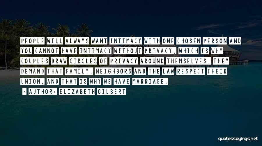 The Union Of Marriage Quotes By Elizabeth Gilbert
