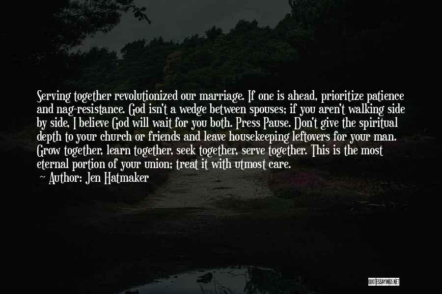 The Union Of Marriage Quotes By Jen Hatmaker