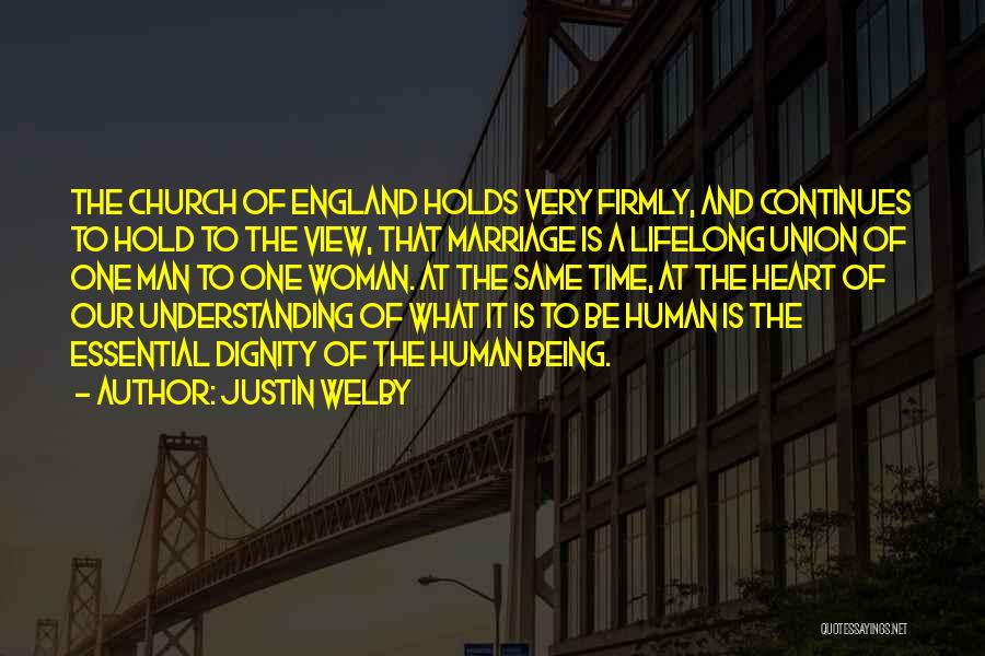 The Union Of Marriage Quotes By Justin Welby