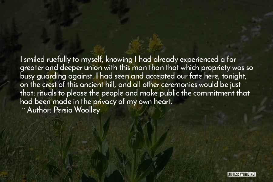 The Union Of Marriage Quotes By Persia Woolley