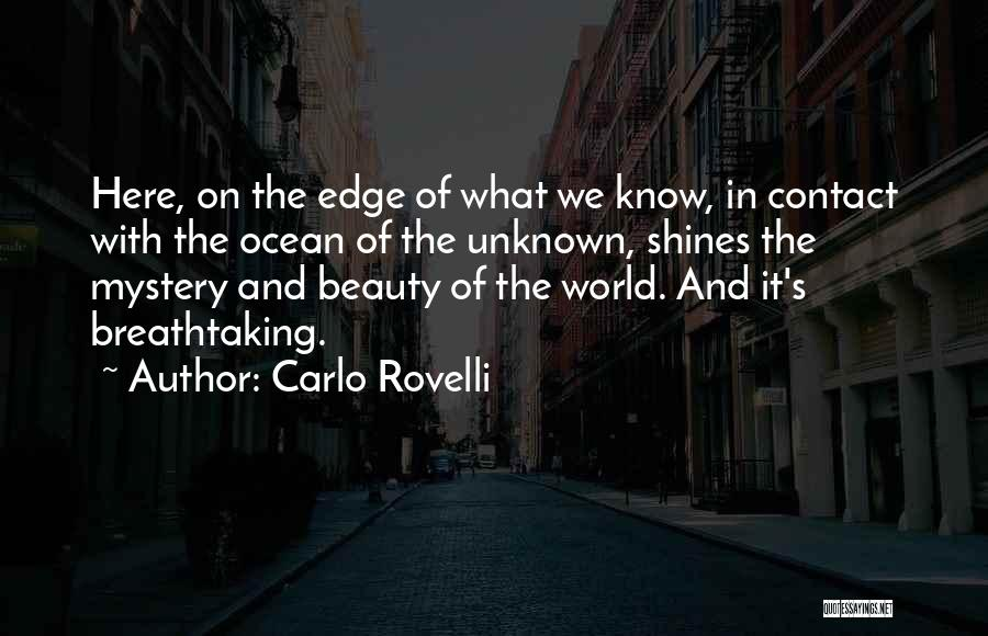 The Unknown Ocean Quotes By Carlo Rovelli