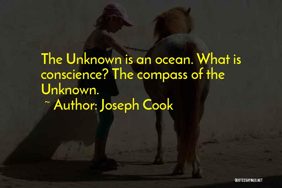 The Unknown Ocean Quotes By Joseph Cook