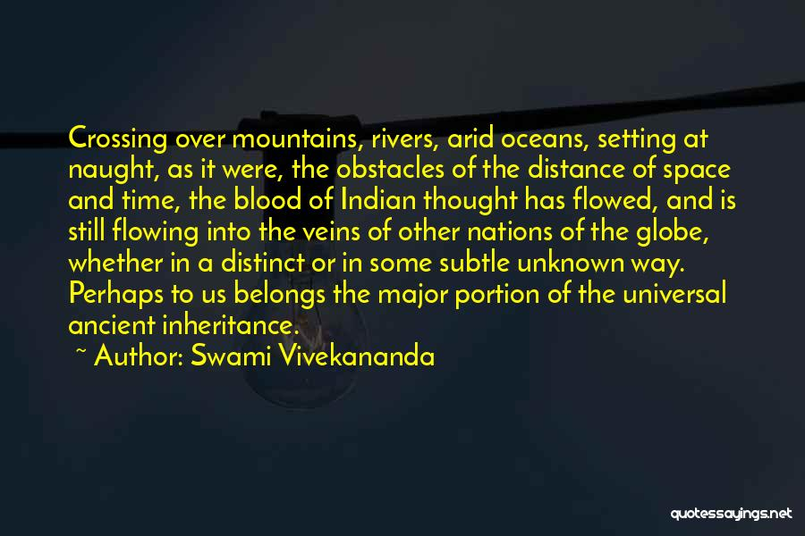 The Unknown Ocean Quotes By Swami Vivekananda