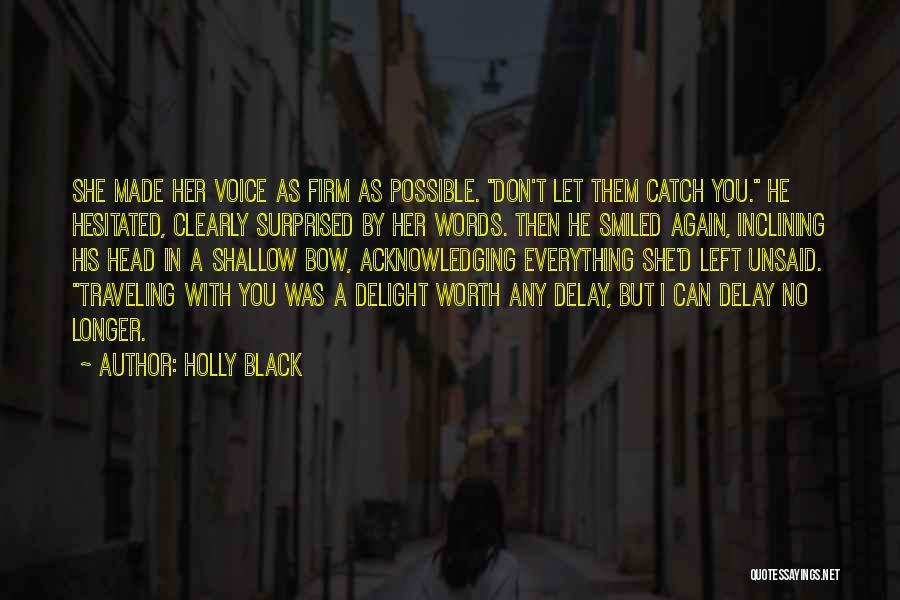 The Unsaid Words Quotes By Holly Black