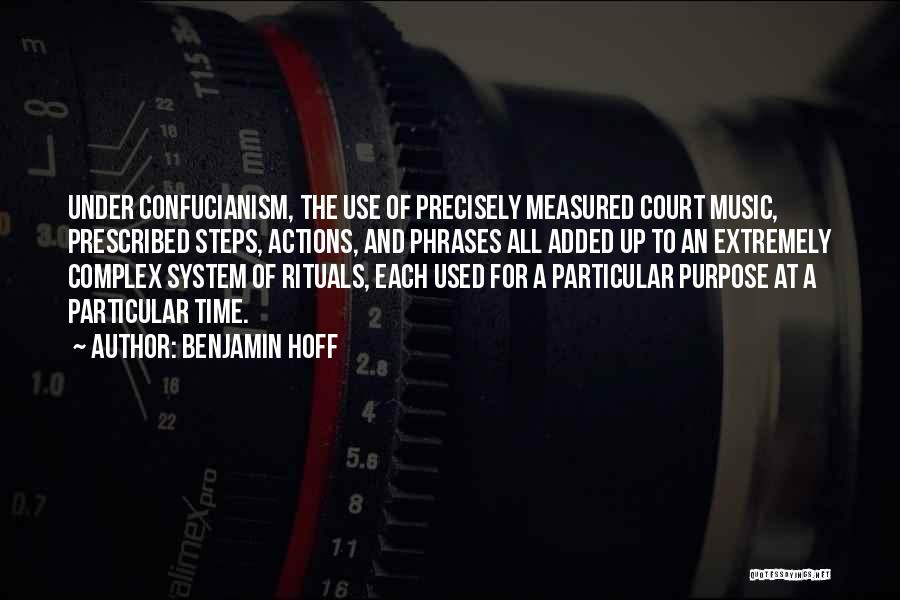 The Us Court System Quotes By Benjamin Hoff