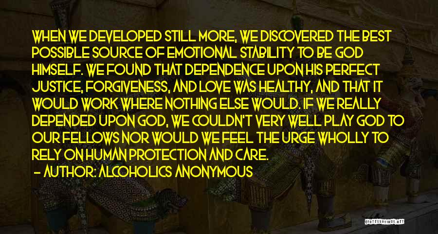 The Very Best Of Love Quotes By Alcoholics Anonymous