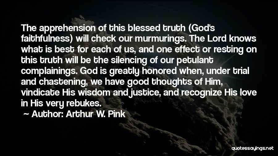 The Very Best Of Love Quotes By Arthur W. Pink