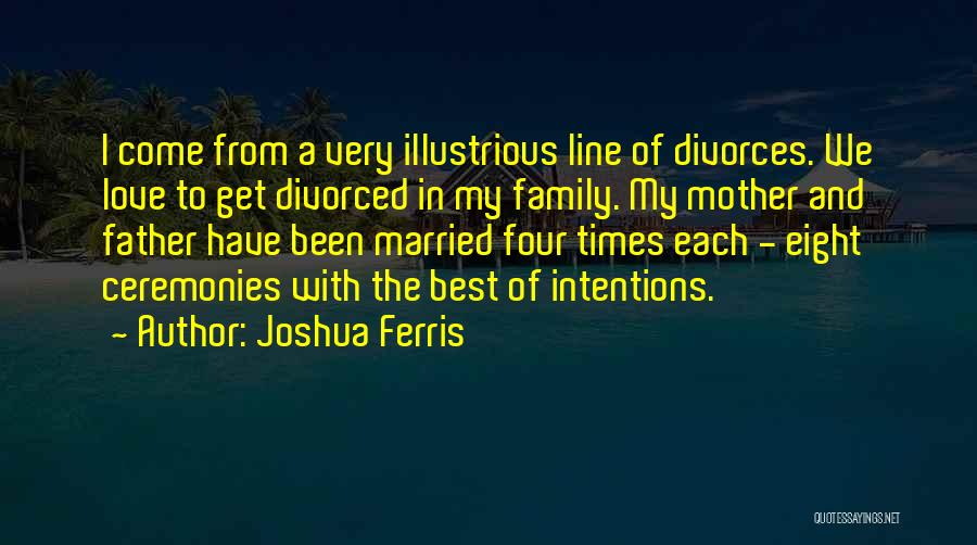 The Very Best Of Love Quotes By Joshua Ferris