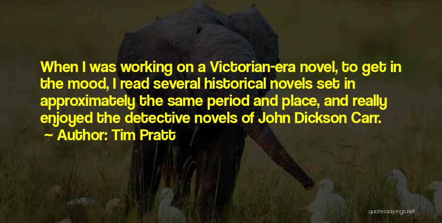 The Victorian Era Quotes By Tim Pratt