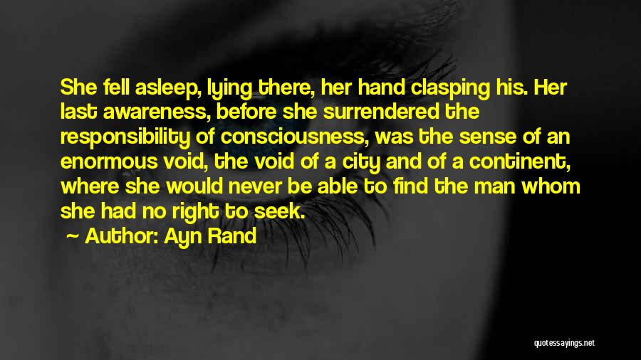 The Void Quotes By Ayn Rand
