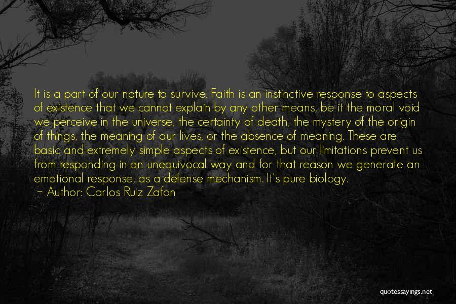 The Void Quotes By Carlos Ruiz Zafon