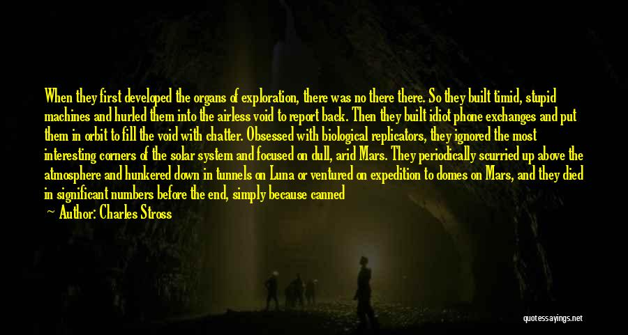 The Void Quotes By Charles Stross