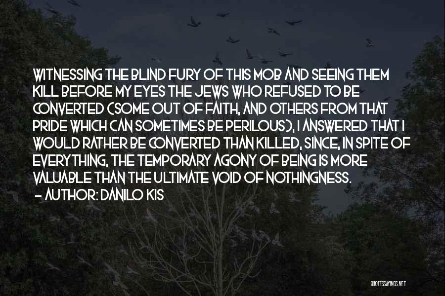 The Void Quotes By Danilo Kis