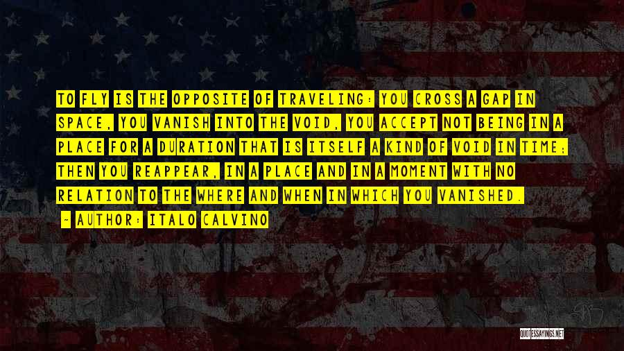 The Void Quotes By Italo Calvino