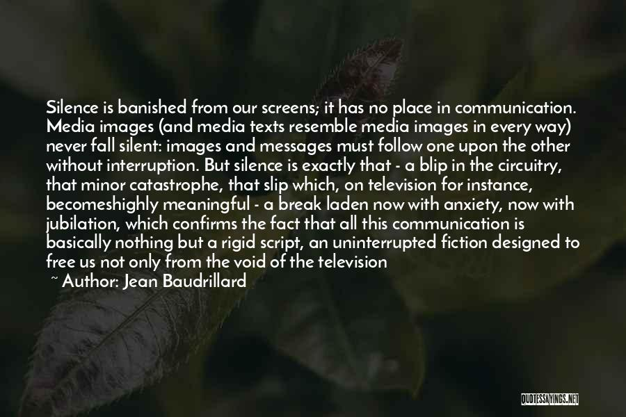 The Void Quotes By Jean Baudrillard