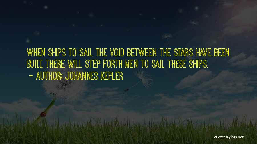 The Void Quotes By Johannes Kepler