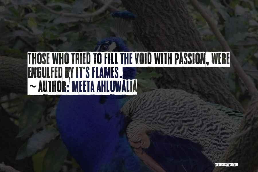 The Void Quotes By Meeta Ahluwalia