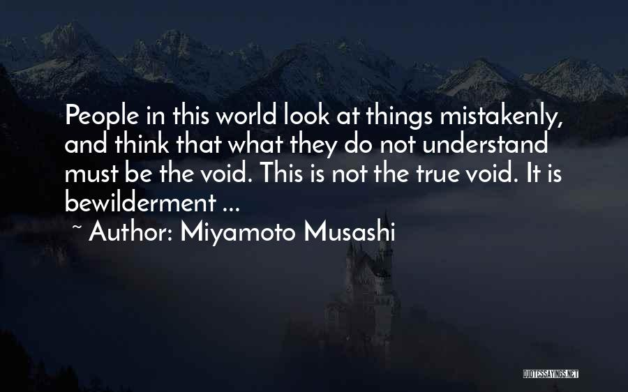 The Void Quotes By Miyamoto Musashi