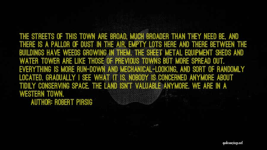 The Water Tower Quotes By Robert Pirsig