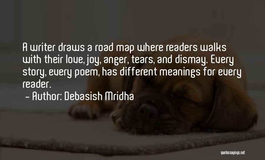 The Way She Walks Quotes By Debasish Mridha